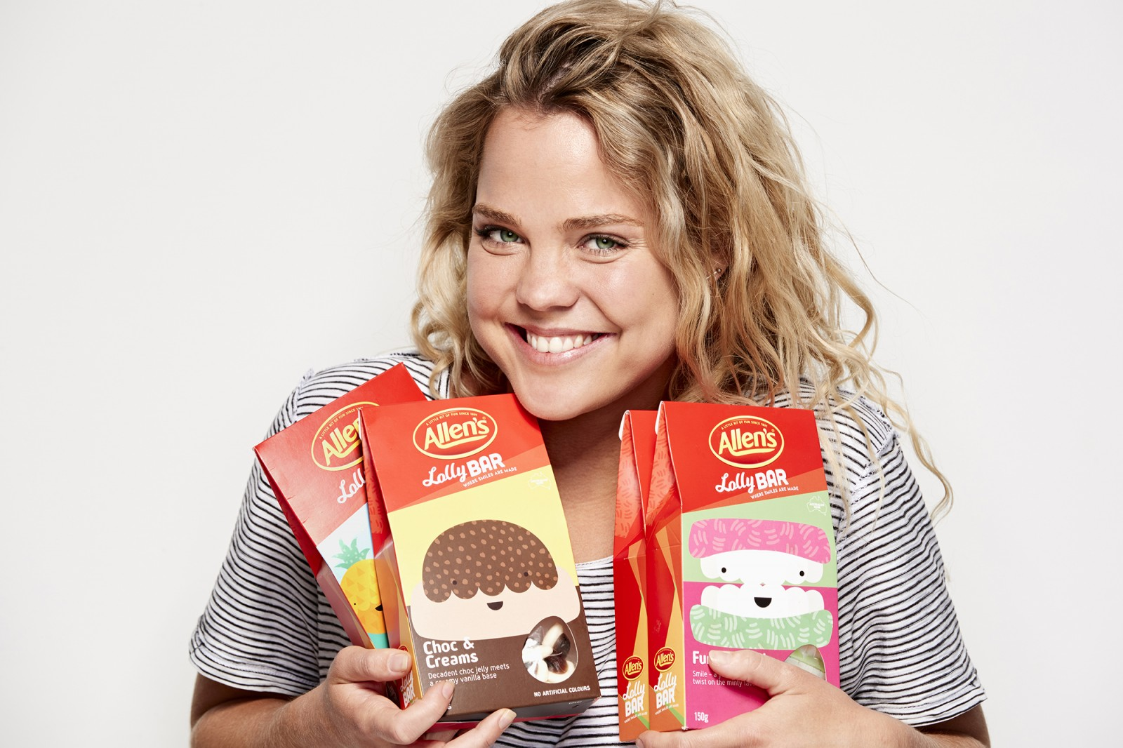 Michelle Young photographs talent for Allens Lolly Bar exclusive for the Westfields Sydney city store, just in time for christmas. Michelle Young is Sydneys leading photographer specialising in...